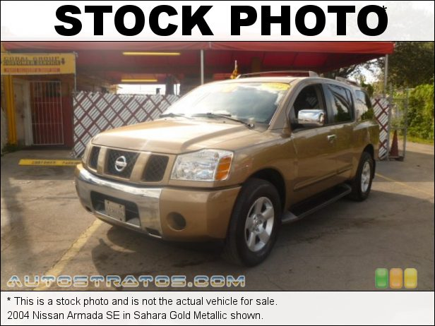 Stock photo for this 2004 Nissan Armada SE 5.6 Liter DOHC 32-Valve V8 5 Speed Automatic