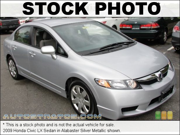 Stock photo for this 2009 Honda Civic LX Sedan 1.8 Liter SOHC 16-Valve i-VTEC 4 Cylinder 5 Speed Manual