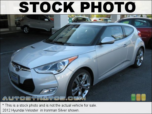 Stock photo for this 2012 Hyundai Veloster  1.6 Liter GDI DOHC 16-Valve Dual-CVVT 4 Cylinder 6 Speed EcoShift Dual Clutch Automatic