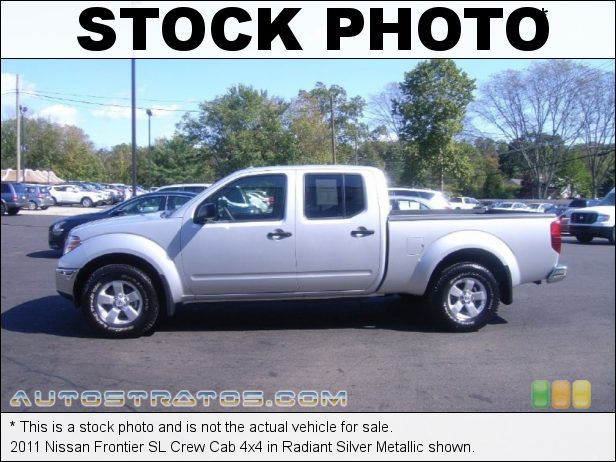 Stock photo for this 2011 Nissan Frontier Crew Cab 4x4 4.0 Liter DOHC 24-Valve CVTCS V6 5 Speed Automatic