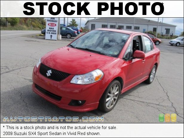 Stock photo for this 2008 Suzuki SX4 Sport Sedan 2.0 Liter DOHC 16 Valve 4 Cylinder 4 Speed Automatic