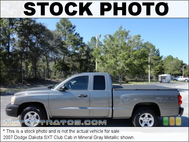 Stock photo for this 2007 Dodge Dakota Club Cab 3.7 Liter SOHC 12-Valve PowerTech V6 4 Speed Automatic
