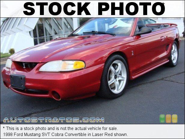 Stock photo for this 1998 Ford Mustang SVT Cobra Convertible 4.6 Liter SVT DOHC 32-Valve V8 5 Speed Manual