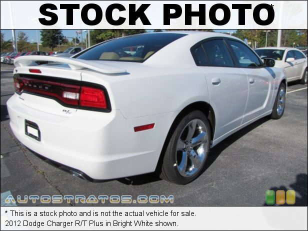 Stock photo for this 2012 Dodge Charger R/T 5.7 Liter HEMI OHV 16-Valve V8 5 Speed AutoStick Automatic