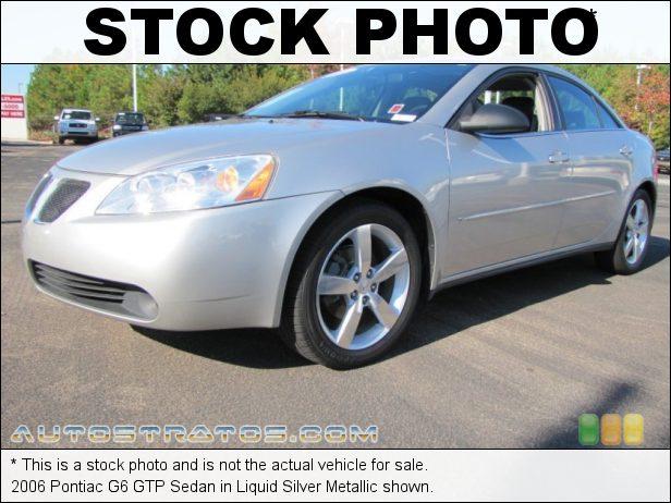 Stock photo for this 2006 Pontiac G6 GTP Sedan 3.9 Liter OHV 12-Valve VVT V6 4 Speed Automatic