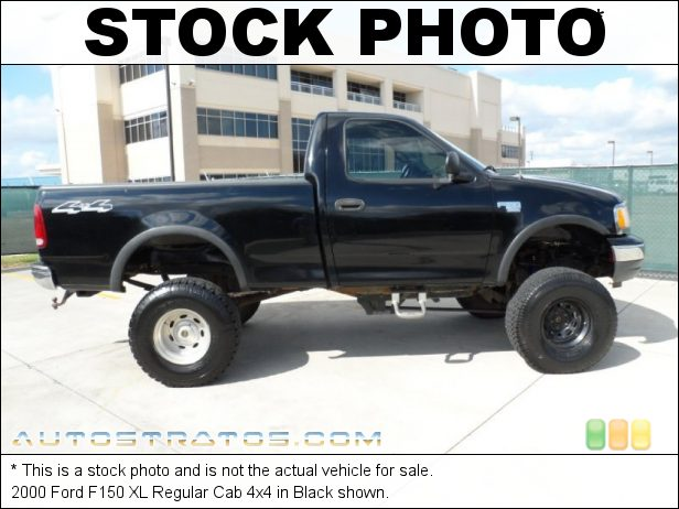 Stock photo for this 2000 Ford F150 Regular Cab 4x4 4.6 Liter SOHC 16-Valve Triton V8 5 Speed Manual