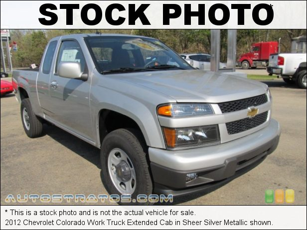 Stock photo for this 2012 Chevrolet Colorado Work Truck Extended Cab 3.7 Liter DOHC 20-Valve Vortec 5 Cylinder 4 Speed Automatic