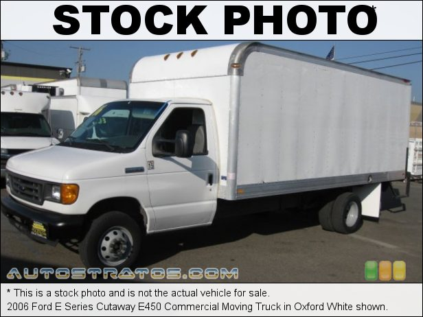 Stock photo for this 2006 Ford E Series Cutaway Commercial Truck 6.8 Liter SOHC 20-Valve Triton V10 5 Speed Automatic