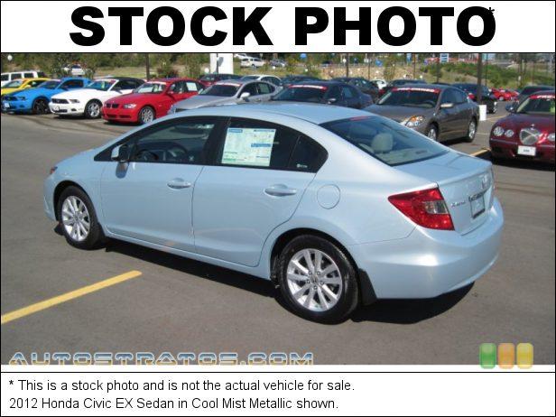 Stock photo for this 2012 Honda Civic EX Sedan 1.8 Liter SOHC 16-Valve i-VTEC 4 Cylinder 5 Speed Automatic