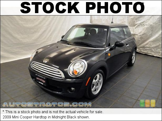Stock photo for this 2009 Mini Cooper Hardtop 1.6 Liter DOHC 16-Valve VVT 4 Cylinder 6 Speed Steptronic Automatic