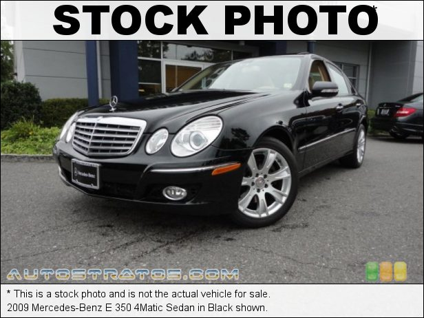 Stock photo for this 2009 Mercedes-Benz E 350 4Matic Sedan 3.5 Liter DOHC 24-Valve VVT V6 5 Speed Automatic