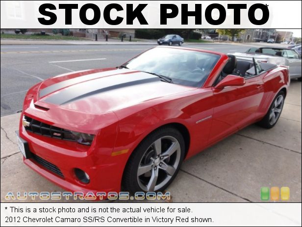 Stock photo for this 2012 Chevrolet Camaro Convertible 6.2 Liter OHV 16-Valve V8 6 Speed TAPshift Automatic
