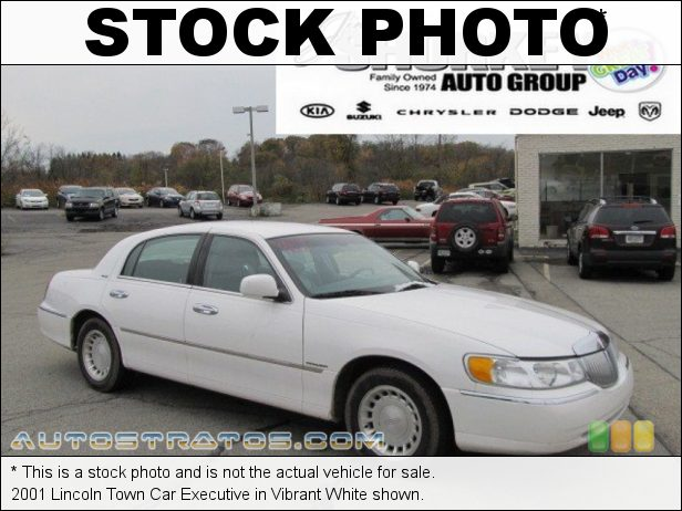 Stock photo for this 2000 Lincoln Town Car Executive 4.6 Liter SOHC 16-Valve V8 4 Speed Automatic