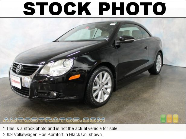 Stock photo for this 2009 Volkswagen Eos Komfort 2.0 Liter FSI Turbocharged DOHC 16-Valve 4 Cylinder 6 Speed DSG Double-Clutch Automatic
