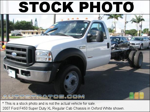 Stock photo for this 2006 Ford F450 Super Duty XL Cab 6.0 Liter OHV 32-Valve Power Stroke Turbo-Diesel V8 5 Speed Torqshift Automatic
