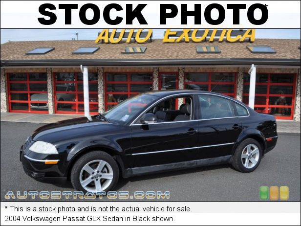 Stock photo for this 2004 Volkswagen Passat GLX Sedan 2.8 Liter DOHC 30-Valve V6 5 Speed Automatic