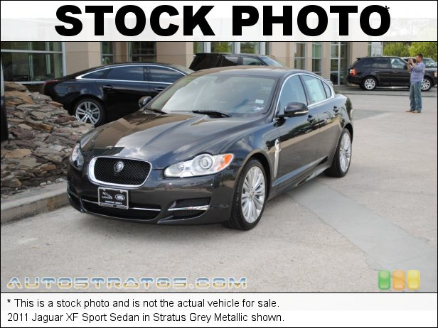 Stock photo for this 2011 Jaguar XF Sport Sedan 5.0 Liter GDI DOHC 32-Valve VVT V8 6 Speed Jaguar Sequential Shift Automatic
