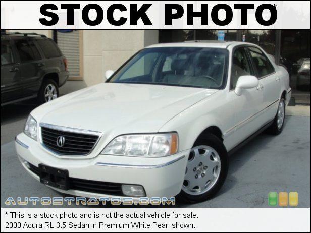 Stock photo for this 2000 Acura RL 3.5 Sedan 3.5 Liter SOHC 24-Valve V6 4 Speed Automatic