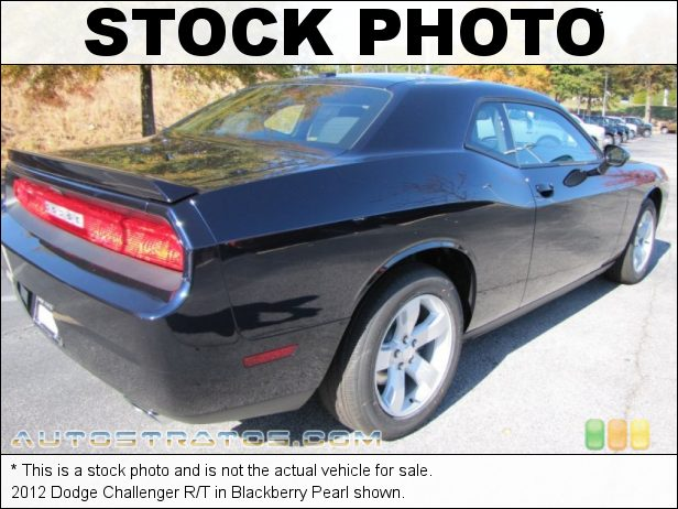 Stock photo for this 2012 Dodge Challenger R/T 5.7 Liter HEMI OHV 16-Valve MDS V8 5 Speed AutoStick Automatic
