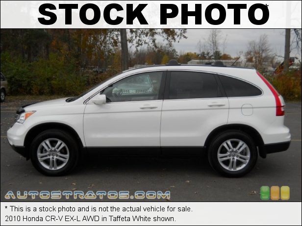 Stock photo for this 2010 Honda CR-V EX-L AWD 2.4 Liter DOHC 16-Valve i-VTEC 4 Cylinder 5 Speed Automatic