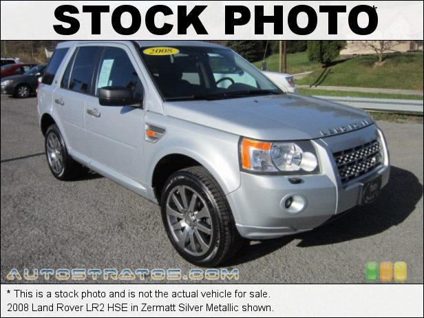 Stock photo for this 2008 Land Rover LR2 HSE 3.2 Liter DOHC 24-Valve VVT Inline 6 Cylinder 6 Speed CommandShift Automatic