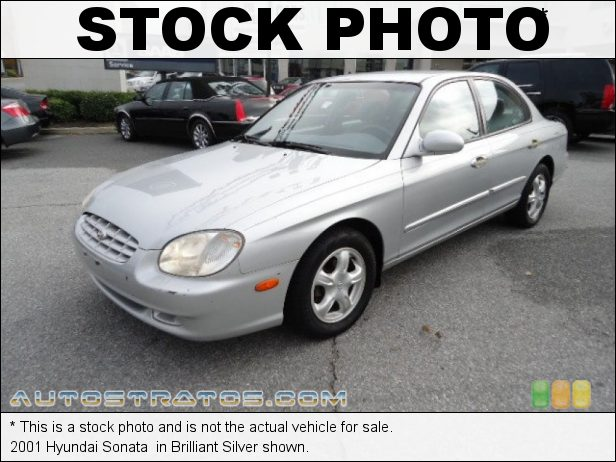 Stock photo for this 2001 Hyundai Sonata  2.4 Liter DOHC 16-Valve 4 Cylinder 4 Speed Automatic