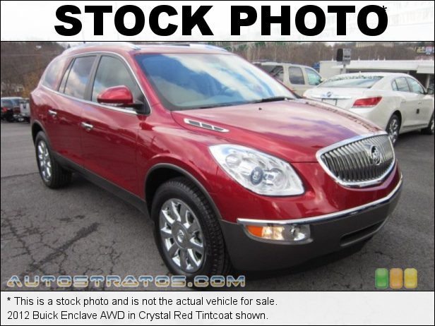 Stock photo for this 2012 Buick Enclave AWD 3.6 Liter DI DOHC 24-Valve VVT V6 6 Speed Automatic