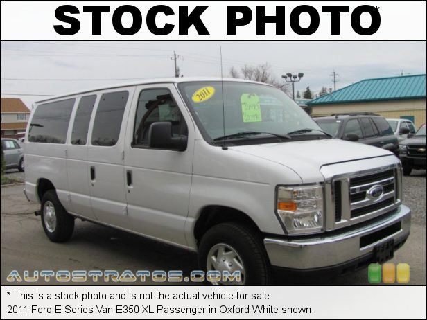 Stock photo for this 2011 Ford E Series Van E350 Passenger 5.4 Liter SOHC 16-Valve Triton V8 4 Speed Automatic