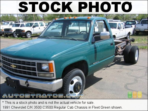 Stock photo for this 2007 Chevrolet Silverado 3500HD Regular Cab Chassis Truck 6.0 Liter OHV 16-Valve Vortec V8 6 Speed Automatic