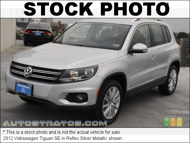 Stock photo for this 2012 Volkswagen Tiguan SE 2.0 Liter FSI Turbocharged DOHC 16-Valve VVT 4 Cylinder 6 Speed Tiptronic Automatic
