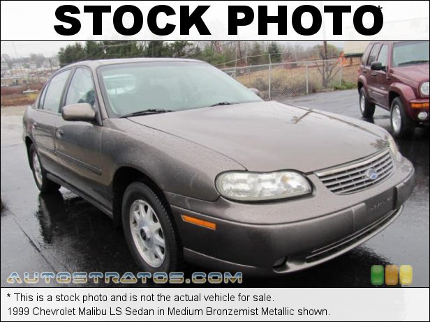 Stock photo for this 1999 Chevrolet Malibu LS Sedan 3.1 Liter OHV 12-Valve V6 4 Speed Automatic
