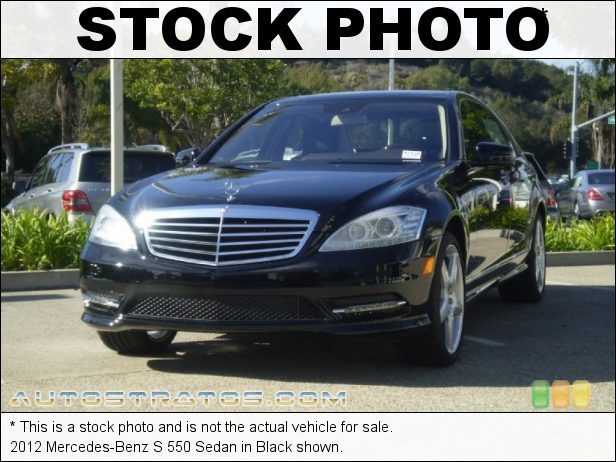 Stock photo for this 2012 Mercedes-Benz S 550 Sedan 4.6 Liter DI Twin-Turbocharged DOHC 32-Valve VVT V8 7 Speed Automatic
