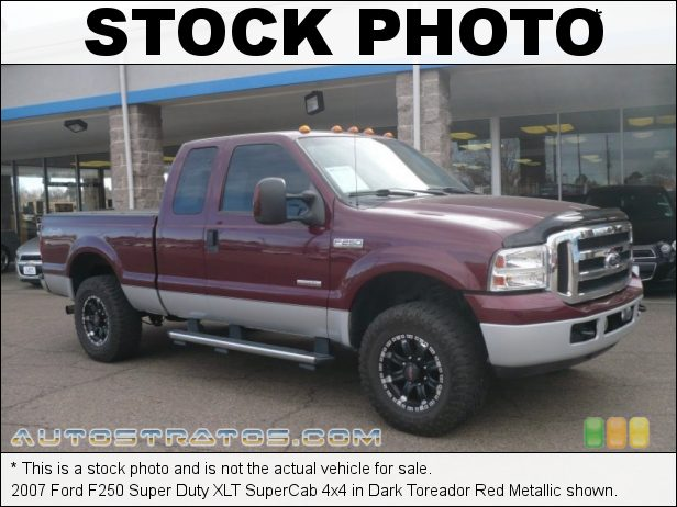 Stock photo for this 2007 Ford F250 Super Duty 4x4 6.0 Liter 32-Valve Power Stroke Turbo Diesel V8 5 Speed Automatic