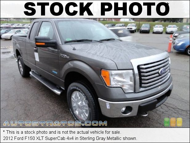 Stock photo for this 2012 Ford F150 XLT SuperCab 4x4 3.5 Liter EcoBoost DI Turbocharged DOHC 24-Valve Ti-VCT V6 6 Speed Automatic