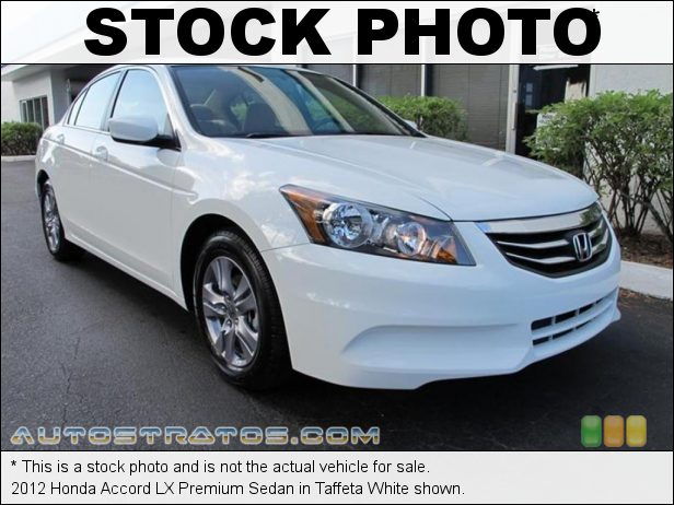 Stock photo for this 2012 Honda Accord LX Premium Sedan 2.4 Liter DOHC 16-Valve i-VTEC 4 Cylinder 5 Speed Automatic