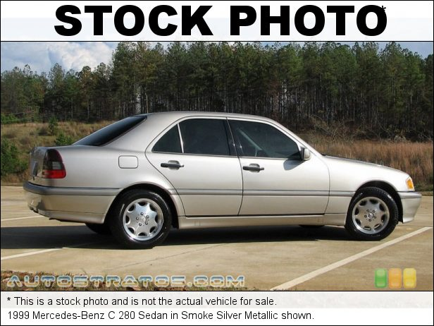 Stock photo for this 1999 Mercedes-Benz C 280 Sedan 2.8L SOHC 18V V6 5 Speed Automatic