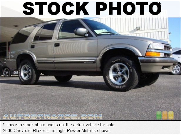 Stock photo for this 1997 Chevrolet Blazer LT 4.3 Liter OHV 12-Valve V6 4 Speed Automatic