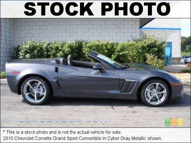 Stock photo for this 2010 Chevrolet Corvette Grand Sport Convertible 6.2 Liter OHV 16-Valve LS3 V8 6 Speed Paddle-Shift Automatic