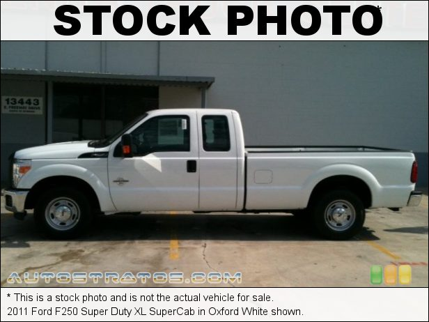 Stock photo for this 2011 Ford F250 Super Duty XLT SuperCab 6.7 Liter OHV 32-Valve B20 Power Stroke Turbo-Diesel V8 6 Speed TorqShift Automatic