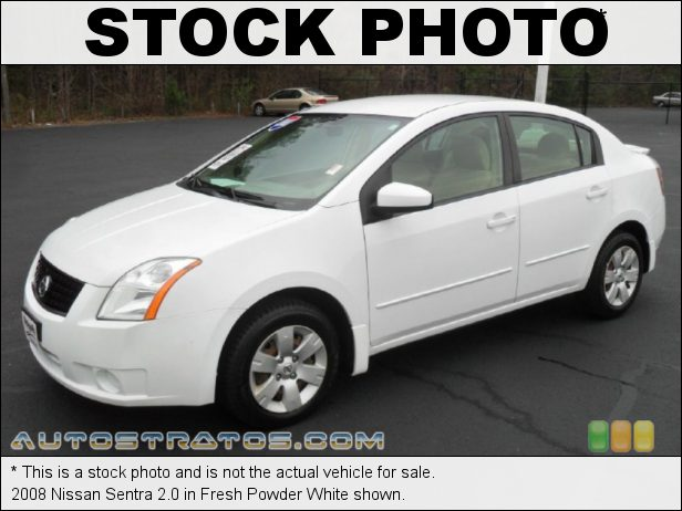 Stock photo for this 2008 Nissan Sentra 2.0 2.0L DOHC 16V CVTCS 4 Cylinder Xtronic CVT Automatic