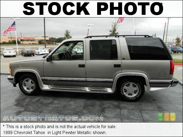 Stock photo for this 1999 Chevrolet Tahoe  5.7 Liter OHV 16-Valve V8 4 Speed Automatic