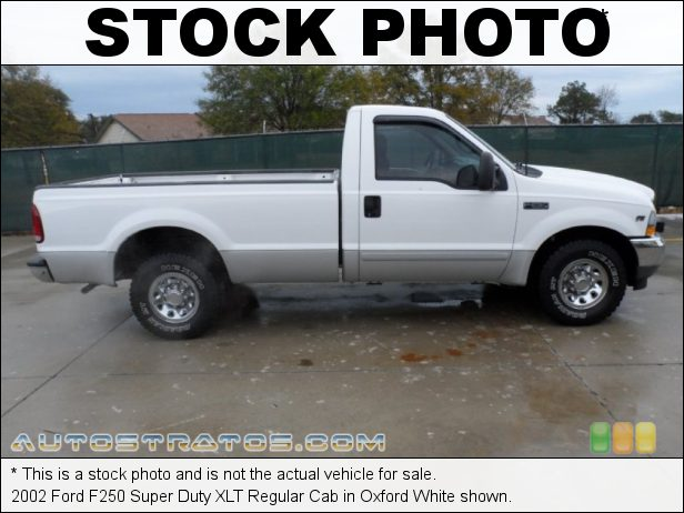 Stock photo for this 1999 Ford F250 Super Duty XLT Regular Cab 5.4 Liter SOHC 16-Valve Triton V8 4 Speed Automatic