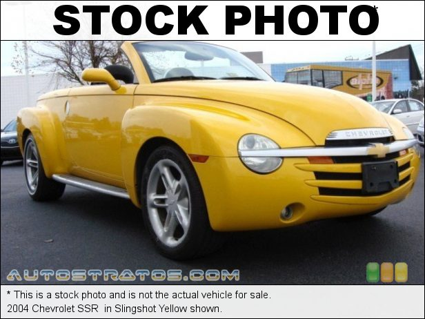 Stock photo for this 2004 Chevrolet SSR  5.3 Liter OHV 16-Valve V8 4 Speed Automatic
