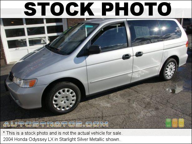 Stock photo for this 2004 Honda Odyssey LX 3.5L SOHC 24V VTEC V6 5 Speed Automatic