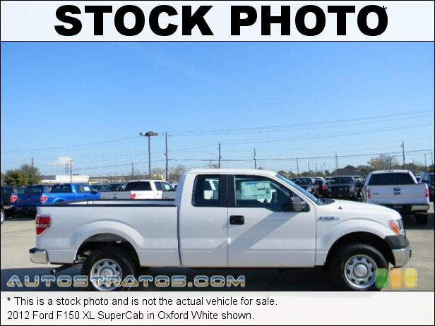 Stock photo for this 2012 Ford F150 XL SuperCab 3.7 Liter Flex-Fuel DOHC 24-Valve Ti-VCT V6 6 Speed Automatic
