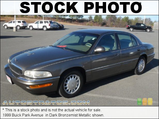 Stock photo for this 1999 Buick Park Avenue  3.8 Liter OHV 12-Valve 3800 Series II V6 4 Speed Automatic