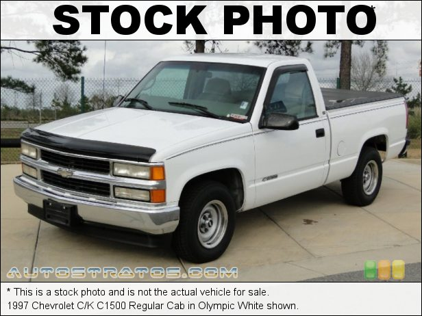 Stock photo for this 1997 Chevrolet C/K C1500 Regular Cab 4.3 Liter OHV 12-Valve V6 5 Speed Manual