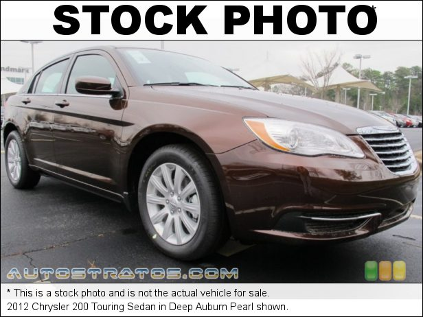 Stock photo for this 2012 Chrysler 200 Touring Sedan 2.4 Liter DOHC 16-Valve Dual VVT 4 Cylinder 6 Speed AutoStick Automatic