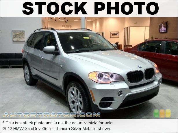 Stock photo for this 2012 BMW X5 xDrive35i 3.0 Liter DI TwinPower Turbo DOHC 24-Valve VVT Inline 6 Cylinder 8 Speed StepTronic Automatic