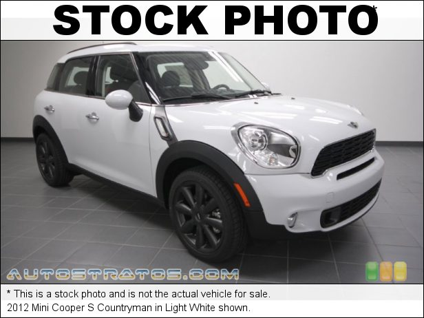 Stock photo for this 2012 Mini Cooper S Countryman 1.6 Liter DI Twin-Scroll Turbocharged DOHC 16-Valve VVT 4 Cylind 6 Speed Steptronic Automatic